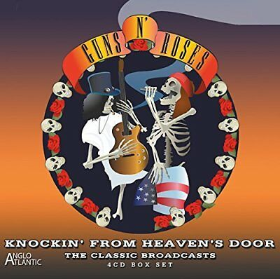 GUNS N'ROSES Knockin' From Heaven's Door - Classic Broadcasts BOX 4CD Live Nuovo