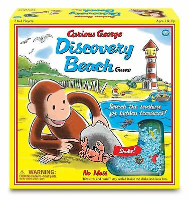 Wonder Forge Curious George Discovery Beach Game, Vintage Edition Classic design