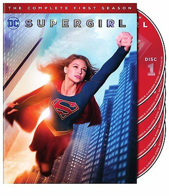 Supergirl The Complete First Season 1 - 5 Disc DVD Set Superman DC Comics NEW
