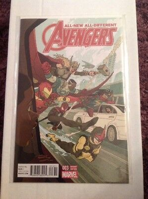 All-New All Different Avengers #3 1:25 Variant Cover by Afu Chan.