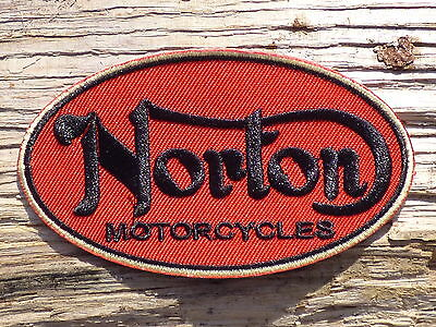 A183 ECUSSON PATCH THERMOCOLLANT aufnaher toppa NORTON automobile moto sport