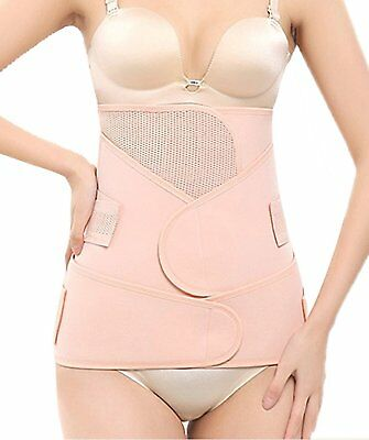 3 in 1 Postpartum Girdle C Section Corset-Recovery Belly/Waist/Pelvis Belt Body
