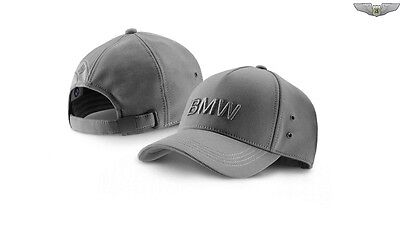BMW Original Gris Espacial Wordmark Gorro Gorra 80162411104