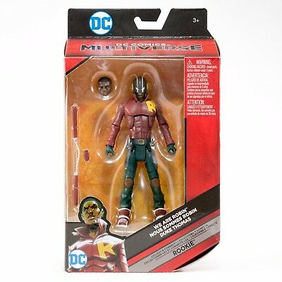 "DC Multiverse Duke Thomas We Are Robin 6"" Inch Action Figure BAF Rookie"