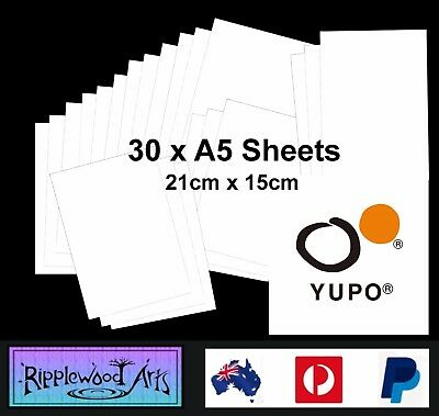 YUPO ULTRA - Lightweight Synthetic Paper - A5 (210mm x 150mm) - 30 Sheets