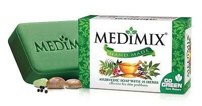 Medimix Ayurvedic Soap Herbal Everyday Skin Protection soap with 18 Herbs 50g