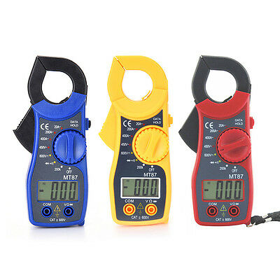 MT87 Digital Clamp Meter Multimeter AC/DC Voltmeter Current Resistance Tester