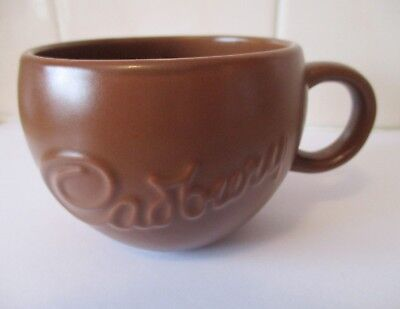 Cadbury Logo Brown Ceramic Coffee Mug Cup