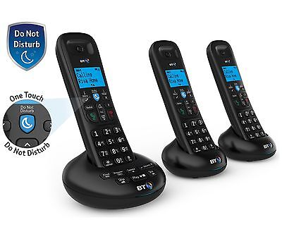 BT3570 Cordless Telephone with Answer Machine - Triple.