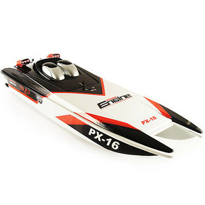 1: 16 76cm PX-16 2.4ghz RC Boat With Twin Motor  NQD 757-6016
