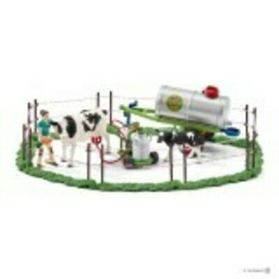 NEW Schleich Cow Family on the Pasture Farm Amimals Playset