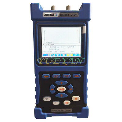 JoinWit JW3302B Handheld Fiber Optical OTDR FTTX SM 1310/1550nm 30/28d Tester