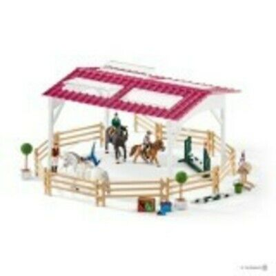NEW Schleich Horse Riding School with Riders Playset