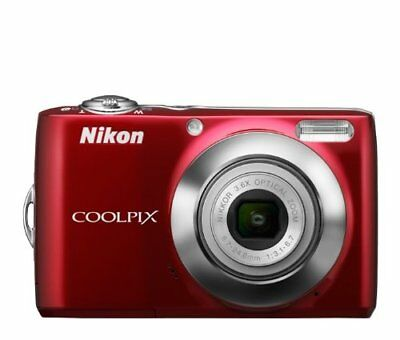 NEW Nikon COOLPIX L24 14 MP Digital Camera with 3.6x NIKKOR Optical Zoom Lens
