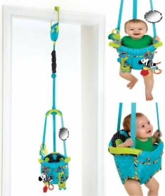 Portable Baby Jumper with Door Clamp Toddler Jumping Toy Seat Fun
