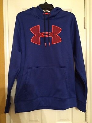 NWT Size M Men's Under Armour Hoodie Storm 1 Loose Fit 1259632 421 MSPR $54