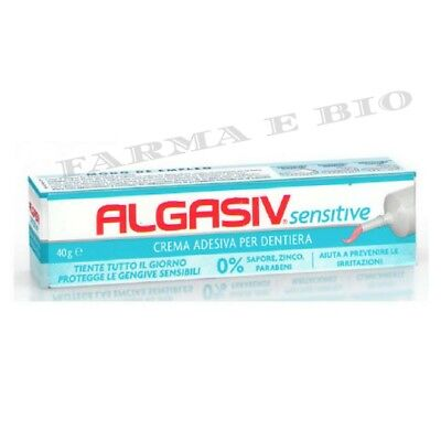 ALGASIV SENSITIVE CREMA ADESIVA DENTIERA, PROTESI - 40 g