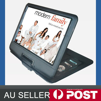 "13.3"" Portable DVD Player 270°,Swivel,300LCD Game,Video, Photo, USB SD, In Car"