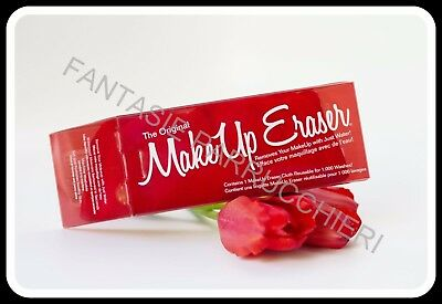 Make Up Eraser The Original Red Panno Struccante Lavabile Fino A 1000 Volte
