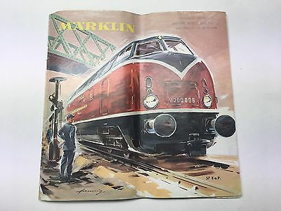 MARKLIN Catalogue 1957 Vintage