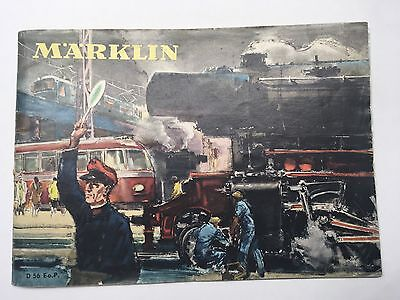 MARKLIN Catalogue 1956 -D56 Vintage