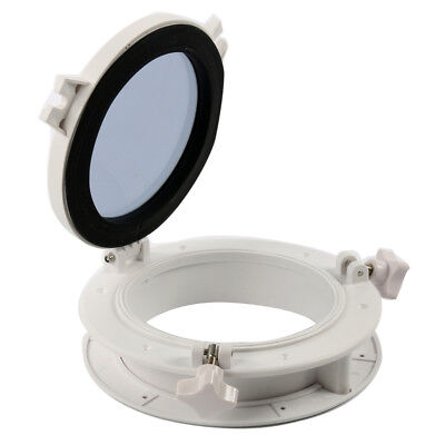 "8""Opening Portlight Porthole, Replacement Window Port Hole -Round  AMPP1-01-ABS"