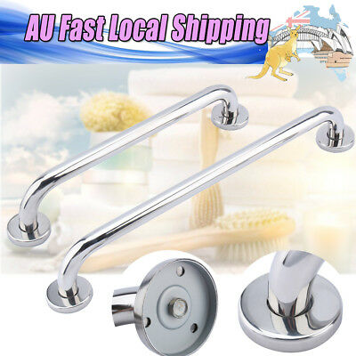 Stainless Steel Shower Bath Grab Bar Grip Bathroom Rail Safety Hand Handle Towel