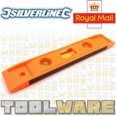 Silverline Pocket Magnetic Small Spirit Level Levelling Scaffold Boat Pole Tool