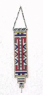 Ndebele Tribe Nyoga Beaded Wall Hanging - South Africa