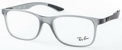 "Ray Ban RB 8903 5244 GR. 53 ""CARBON"" BRILLE! ORIGINAL! NEU! OPTIKERFACHGESCHÄFT!"