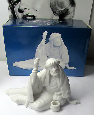 Avon White Nativity THE POOR MAN Porcelain Figurine in Box New Old Stock