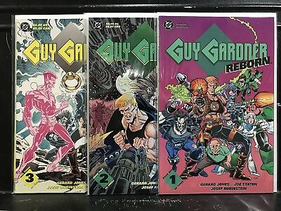 COMPLETE Guy Gardner Reborn #1 2 3 (1992 Series DC) Combined Shipping Deal!