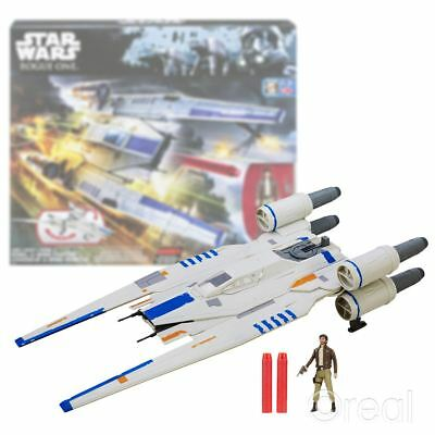 New Star Wars Rogue One Rebel U-Wing Fighter & Cassian Endor Figure Official