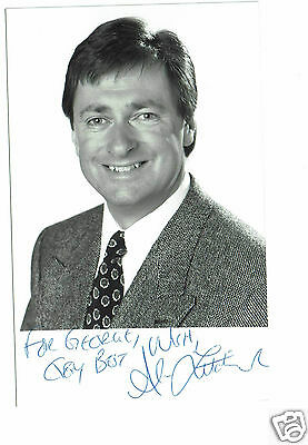 Alan Titchmarsh  Television Presenter Hand Signed  Photograph 6 x 3