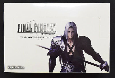 Square Enix Final Fantasy TCG Opus III 3 [English] Factory Sealed Booster Box