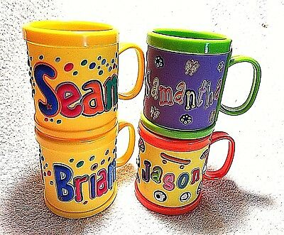 My Name Mug John Hinde Personalized Children's Kids Sippy Cup Handle