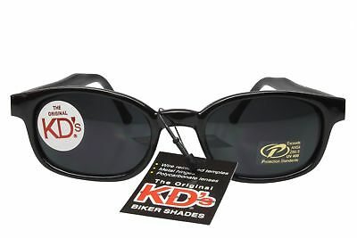 KD's Sunglasses Original Biker Shades Motorcycle Dark Gray 2120 Sons Of Anarchy