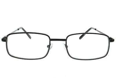 Fake Non-Prescription Clear Glasses Black Full Frame