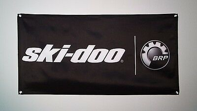 Ski-Doo BRP snowmobile wall banner flag for garage, man cave etc 4x2', 60x120 cm