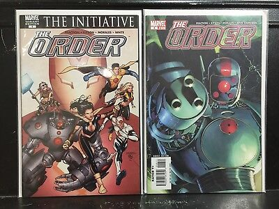 Lot of 2 The Order #1 & 6 (2007 Marvel) Combined Shipping Deal