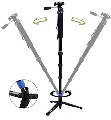 DIGIANT MP-3606 2-in-1 Professional Telescoping Camera Monopod 70""