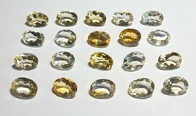 Natural Gemstones from Gold Scrap Recovery, 108 Carats