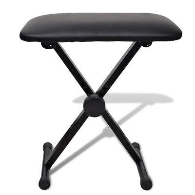 Mobile Musician Music Player Entertainer Travel Keyboard Piano Stool Seat Chair