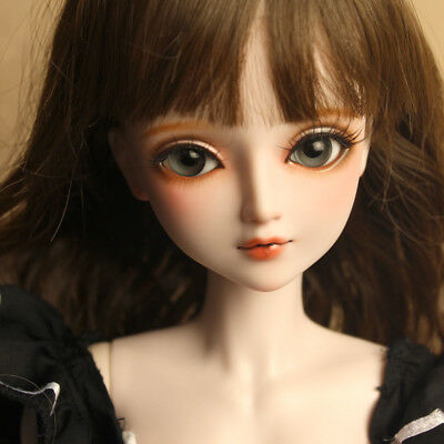"24"" New 1/3 Handmade PVC BJD MSD Lifelike Doll Joint Dolls Baby Gift New Magical"