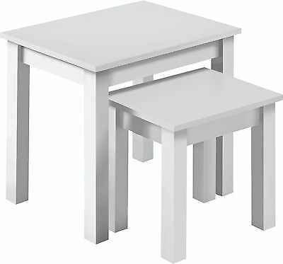 HOME Nest of 2 Tables - White.