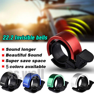 Bike Cycling Invisible Bell Aluminum Alloy Handlebar Safety Horn Loud Sounds