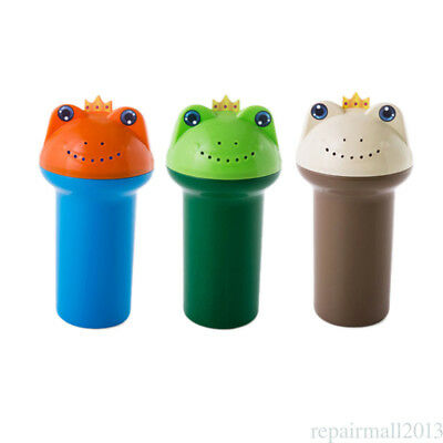 Baby Wash Hair Bath Shower Eye Shield Shampoo Frogs Cup Rinse Sprinkler Jug 1Pcs