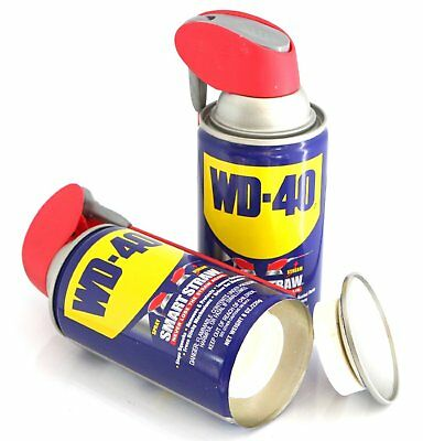 WD-40 Safe Can Safe Hidden STORAGE DIVERSION SECRET STASH CASH Hide Valuables