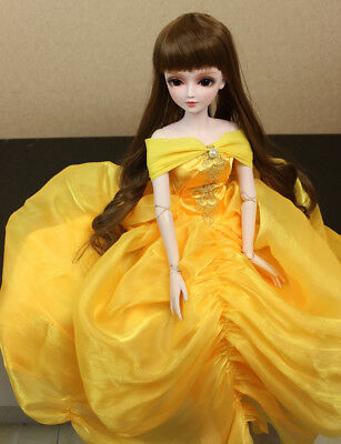 "24"" New 1/3 Handmade PVC BJD MSD Lifelike Doll Joint Dolls Baby Gift New Sarah"