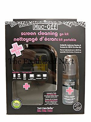 Muc-Off  Screen cleaning go kit  for ipads Phone Tv + FREE GIFT & FREE P+P  WOW